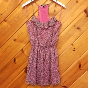 Express Floral Pink Dress size small